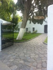 Esta es la entrada a la Casa Grande